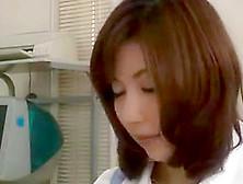 Horny Asian Secretaries Get Naughty At Work