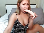 Asian Teen Toying For Cash Part 3