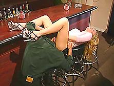 Salacious Brunette Pornstar In High Heels Enjoying A Hardcore Fu