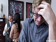 Thick Sexy Milf Lea Lexis Getting Her Cunt Fucked In Front Of He