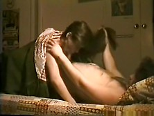 Skinny Brunette Girl With Hairy Pussy Has Oral,  Missionary And D