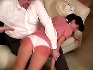 Skinny Teen Gets Some Hard Butt Spanking