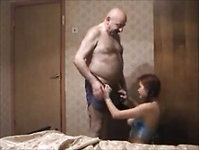 Old Guy Fucking Redhead Teen On Hidden Cam
