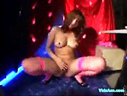 Lapdancer Girl Dancing For Guy Giving A Bj Rubbing Shaft With As