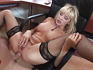Female Boss Gets Her Pussy Fucked