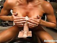 Aziani Iron Brandi Love Rides The Sybian Sex Machine