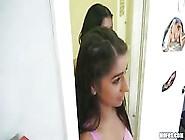 Flawless Brunette Megan Salinas Bounces Her Booty Hard