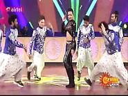 Catherine Tresa Navel Dance