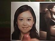 Cum Tribute On Pregnant Asian Jacqui