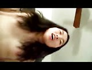 Chinese Girlfriend First Time On Camera