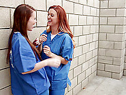 Girls Locked In Prison Love Having Lesbian Sex In Their Cells