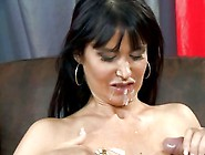 Cum Loving Honey Eva Karera Enjoys The Dripping Load On Her Sexy