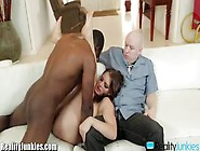 Kayla West Fucking A Black Stud In Front Of Her Wronged Husband