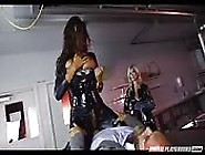 Brunette Cock Jockey And Her Friends Go Wild