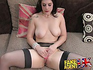 Sneaky Anal Fucking For Amateur Brit In Fake Casting