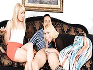 Mellanie Monroe & Valerie White & David Loso In Wanna Fuck My Da