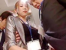 Horny Japanese Girl Asami Ogawa In Incredible Secretary,  Stockin
