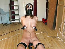 Slavechair Punishment - Jupudo. Com - Slave Orgasm