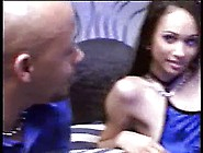 Sexy Black Babe Gets Undressed And Her Tits And Asshole Licked A