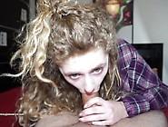Close Up Creampie For Cocksucking Slut - Maryjane Auryn