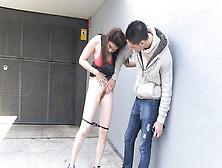 La Pornostar Miyuki Son Recoge En La Calle A Un Amateur Al Hace