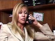 That Big Black Cock Gets Lost Between Nicole Moore's Massive Mam