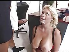Beautiful charlee serves her boss 5