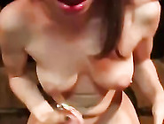 Sexy Christmas Babe Stripping And Fucked By Big Long Cock Nicely
