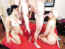 Tatianna And Julie Cash Loving Steamy Oral Sex