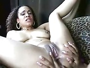 Black Lesbian Licking And Toying With A Creamy Orgasm 11