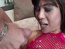 Asian Beauty Cheyne Collins Spreads Her Legs For A Formidable Fu