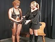Interracial Bound As Lesbian Blo...