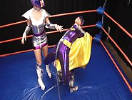 Superheroine Humiliation Battle