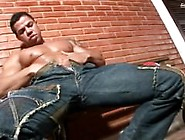 Brazilian Daddy Jerks Off