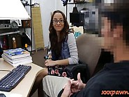 Amateur Babe Sells Her Books And Ripped By Nasty Pawn G