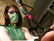 Surgical Mask And Gloves Handjob