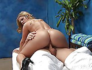 Hot Blonde Cocksucker Is Working As A Masseuse And Often Having