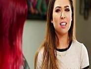 Lesbians Karlie And Melissa Tonguing Throbbing Clitoris