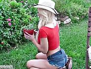 Madonna Has Sex In The Garden