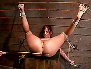 Bound Hope Howell Gets Toyed And Whipped In Bondage Video