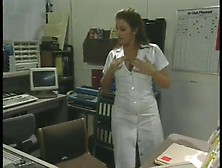 Erotic Nurse Shanna Mccullough Thingers While Working The Night