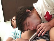Two Horny Thai Twinks Suck And Bareback Fuck