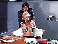 Voluptuous Blonde Woman In Shoes With High Heels,  Phoenix Marie