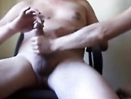 Pussy-Hungry Stallion Gets His Pulsating Meat Stick Jerked