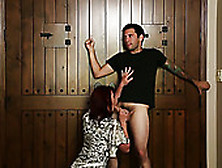 Seductive Babe Nicki Hunter Sucks Cocks Like A Pro