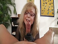 Nina Hartley Gives A Great Handjob And She Knows It