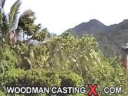 Woodman Girl Fucked Outdoors
