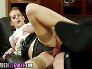 Clothed Hoe Fucked And Cummed On