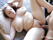 Magnificent Redhead Chubby Lady