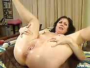 Hot Mature Mom Liz Gets Hardcore Ass-Fucked And Creampied